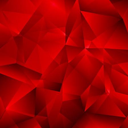 Ilustración de Red Vector Background with Triangles Shapes.  - Imagen libre de derechos