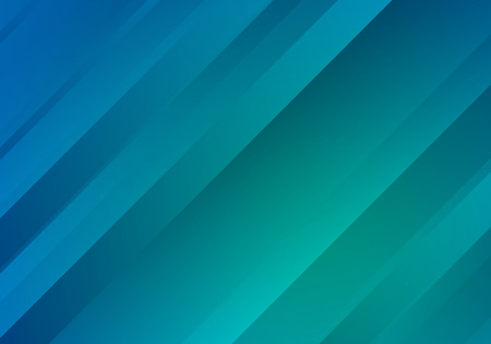 Illustration pour Blue and Green Background with Gradient Stripes. Abstract Geometric .  Texture. - image libre de droit