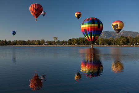 Colorful Hot Air Balloons Re