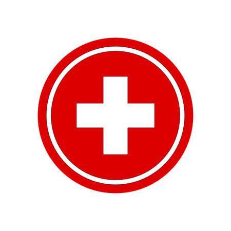 Ilustración de Healthcare plus sign. Medical symbol vector illustration - Imagen libre de derechos