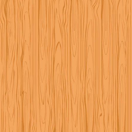 Illustration pour Wood texture background vector. Brown tree surface vector illustration - image libre de droit