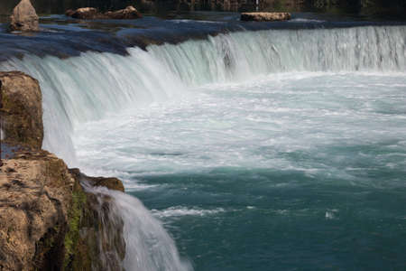 Close-up of the Manavgat waterfall