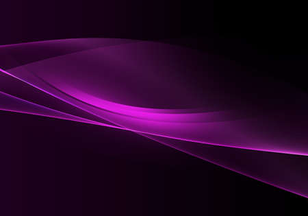 Photo pour Abstract background waves. Black and purple abstract background for wallpaper or business card - image libre de droit