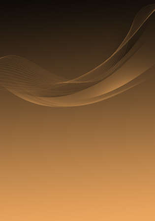 Photo pour Abstract background waves. Black and chamois abstract background for wallpaper or business card - image libre de droit