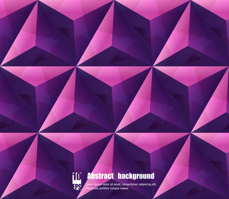 Illustration for Abstract background with geometric pattern. Eps10 Vector illustration - Royalty Free Image