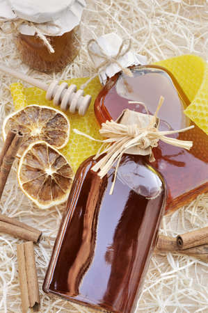 Natural products made of honey – still life