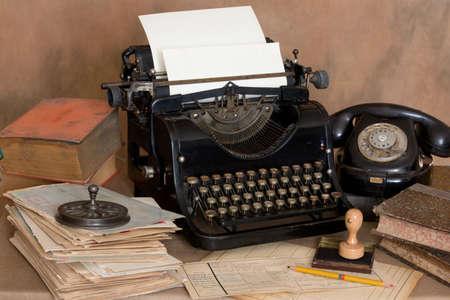 Foto de Vintage office desk - Imagen libre de derechos