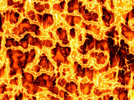 Illustration of Fire Background