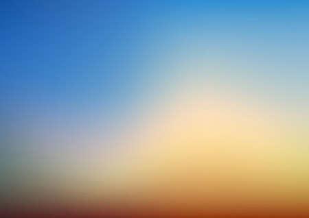 Illustration pour Empty Editable Gradient Background Horizontal Vector Illustration - image libre de droit
