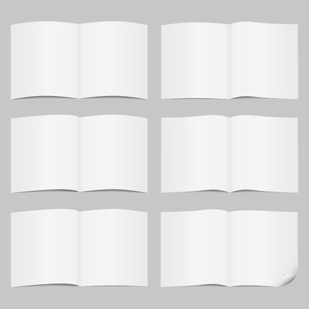 Set of open pages