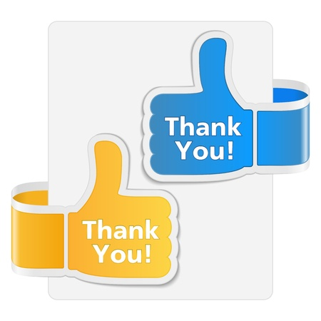 Thank you badges