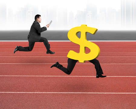 Image result for running with money + royalty free