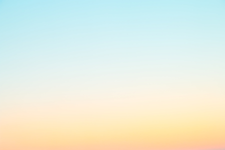 A soft cloud background with a pastel colored