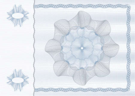 security drawing (guilloche) for protecting dokuments such as checks, bonds, identification cards, tickets or banknotes