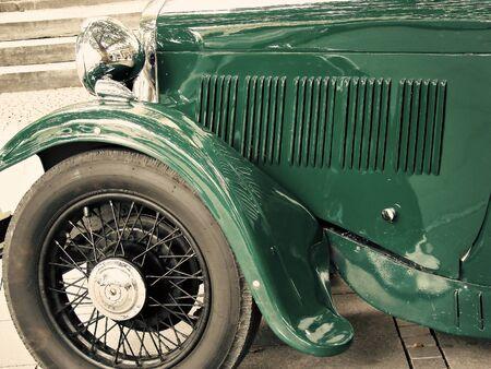 prohibition time- mafia car