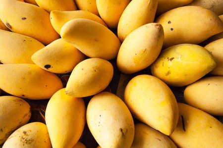 Bunch of ripe mango