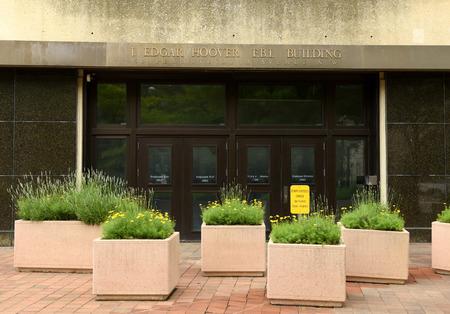 Washington dc june 02 2018: fbi federal bureau of investigation