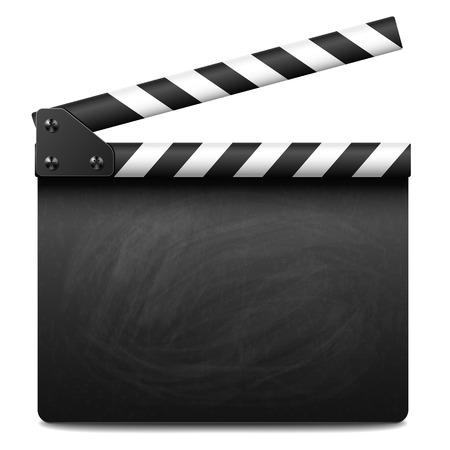 Illustration pour Clapper board - image libre de droit