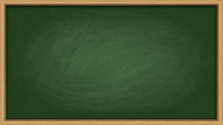 Illustration pour Green slate board with chalk smudges - image libre de droit