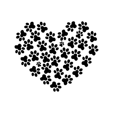Heart Paw print_2