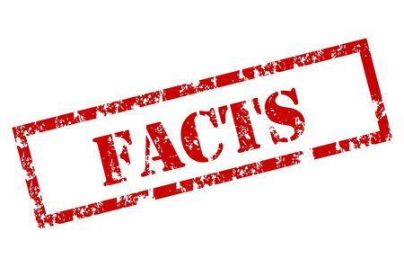 Grunge Facts stamp