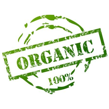 Organic grunge stamp