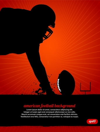 American Football Poster