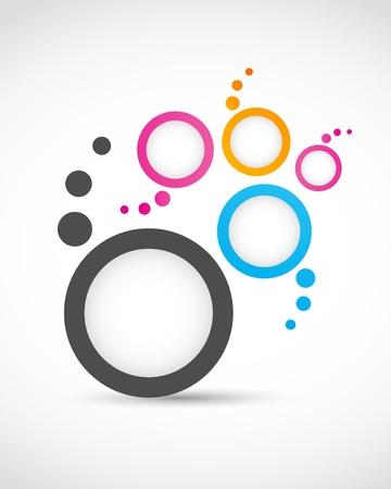 logo abstract circles