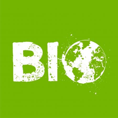 Bio environment concept illustration