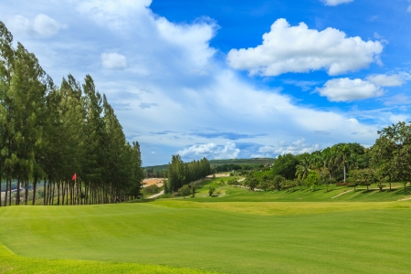 Mae Moh Mine Golf Course Mural Wallpaper