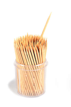 toothpick from the tree as an element of health and health