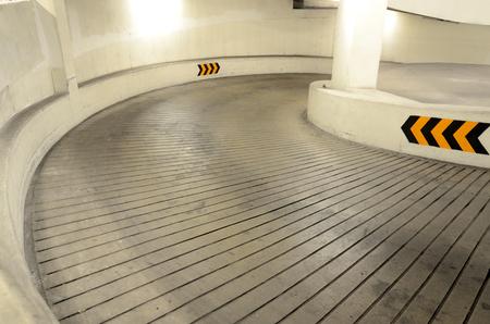 Way to the Underground parking