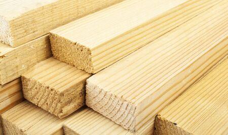 Photo pour Carpentry. Wood planks - image libre de droit