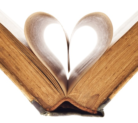 heart of the book's pages