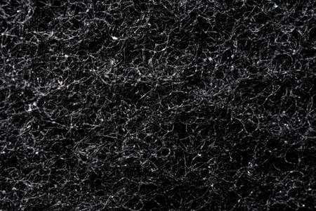 Photo pour black metal rough surface texture. Black layout charcoal filter - image libre de droit