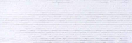 Photo for Texture background concept: white brick wall background in rural room - Royalty Free Image
