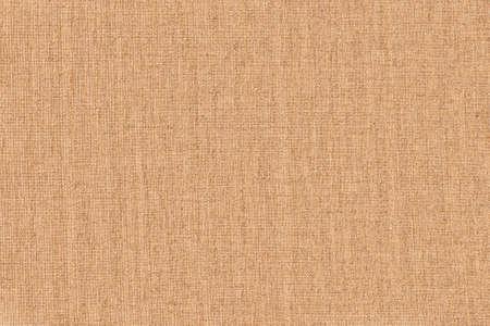 Photo pour artistic background: light brown linen canvas, close - image libre de droit