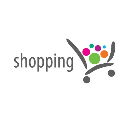 Ilustración de pattern design logo shop. Vector illustration of icon - Imagen libre de derechos