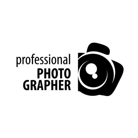 Illustration pour logo camera the photographer. Vector illustration of icon - image libre de droit