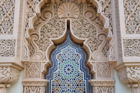 Moroccan architecture traditional design