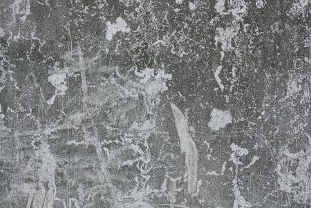 Foto de Gray stone texture from a worn concrete wall - Imagen libre de derechos