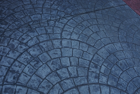 Photo for stone gray pavement texture on the road - Royalty Free Image