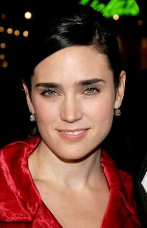 HOLLYWOOD, CA - FEBRUARY 02, 2006: Jennifer Connelly at the World premiere of 'Firewall' held at the Grauman's Chinese Theatre in Hollywood, USA on February 2, 2006.