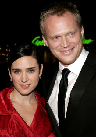 Jennifer Connelly and Paul Bettany at the World premiere of 'Firewall' held at the Grauman's Chinese Theatre in Hollywood, USA on February 2, 2006.