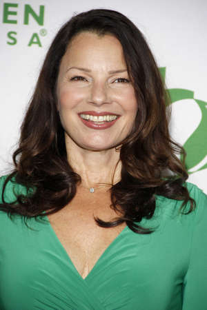 Fran Drescher at the Global Green USA's 12th Annual Pre-Oscar Party held at the Avalon on February 18, 2015.