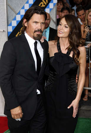 Diane Lane and Josh Brolin at the Los Angeles premiere of 'Secretariat' held at the El Capitan Theater in Hollywood, USA on September 30, 2010.