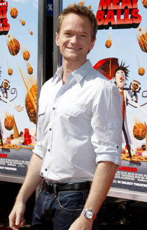 Neil Patrick Harris at the Los Angeles premiere of Cloudy With A Chance Of Meatballs held at the Mann Village Theater in Westwood, California, United States on September 12, 2009.