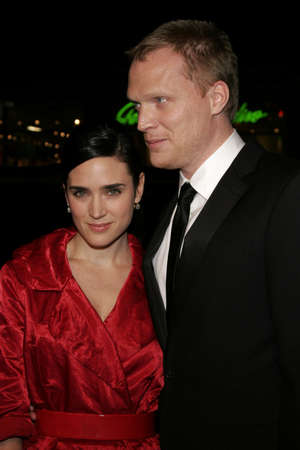 Jennifer Connelly and Paul Bettany at the World premiere of Firewall held at the Grauman's Chinese Theatre in Hollywood, USA on February 2, 2006 .
