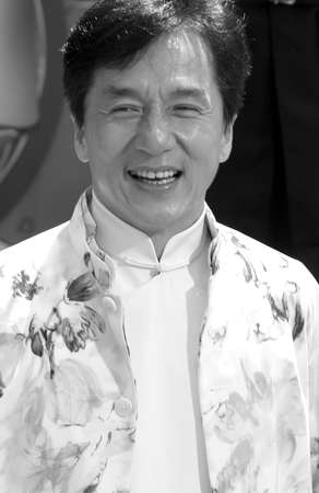 Jackie Chan at the Los Angeles premiere of 'Around The World In 80 Days' held at the El Capitan Theater in Hollywood, USA on June 13, 2004.