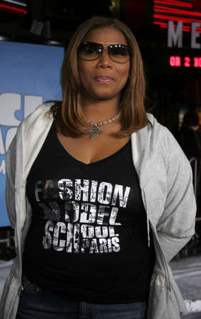 Queen Latifah at the World premiere of 'Ice Age 2: The Meltdown' held at the Grauman's Chinese Theater in Hollywood, USA on March 19, 2006.